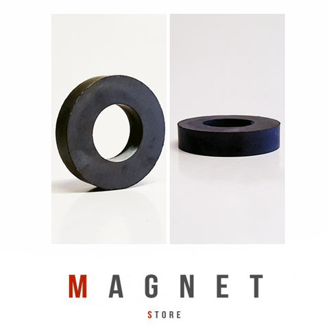 Od36xId18x8mm Y30BH Uncoated Ferrite Ring Magnet