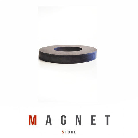 Od80xId40x10mm Y30BH Uncoated Ferrite Ring Magnet