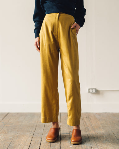 Ali Golden Straight Leg Pant, Sunflower
