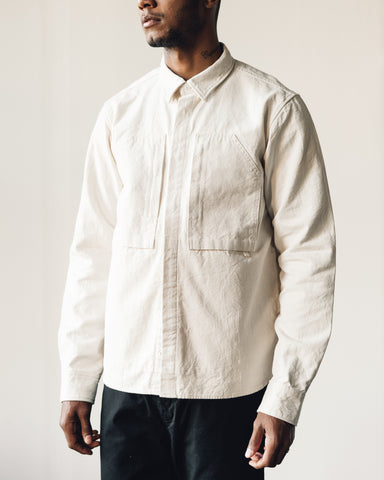 Snow Peak Ox Shirt, Ecru