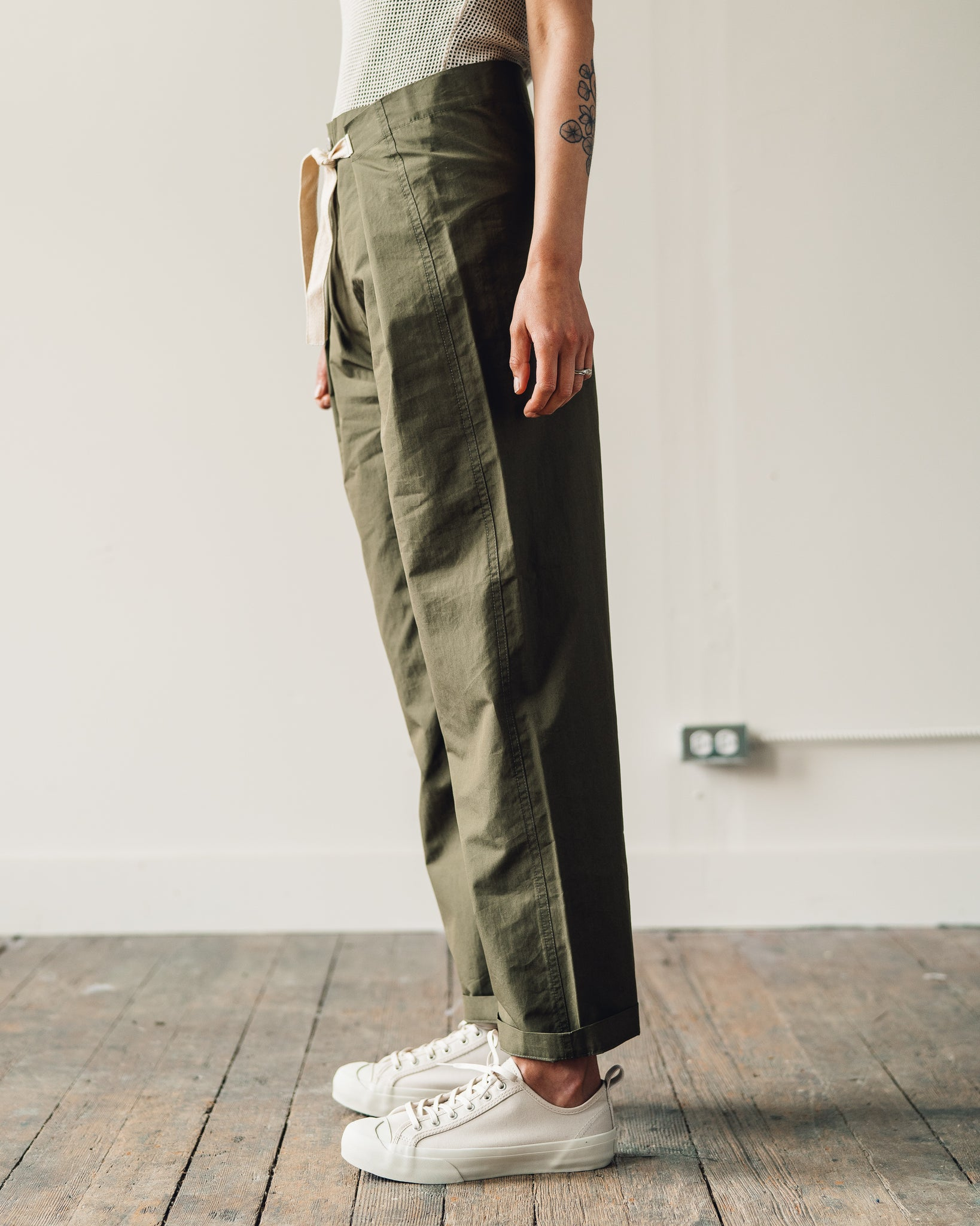 W'menswear Mess Pants, Green