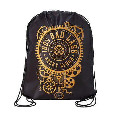 Becky Lynch 100% Bad Lass WWE Drawstring Bag