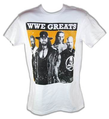 WWE Greats Triple H Undertaker Shawn Michaels Stone Cold Steve Austin T-shirt