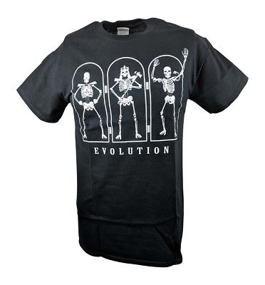 Evolution Adapt or Perish Triple H Randy Orton Mens T-shirt