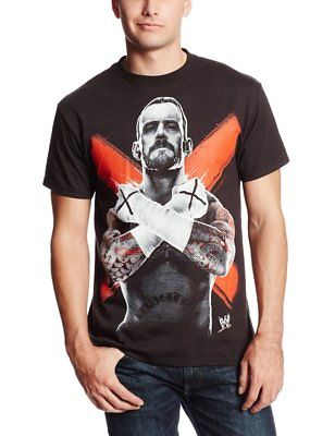 CM Punk Cross Fists WWE T-shirt Boys Juvy Youth