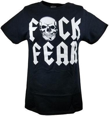 Stone Cold Steve Austin F Fear Drink Beer Mens T-shirt