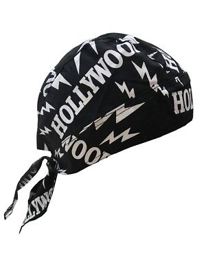 Hollywood Bandana Skull Cap Doo Rag for nWo Hulk Hogan Costume