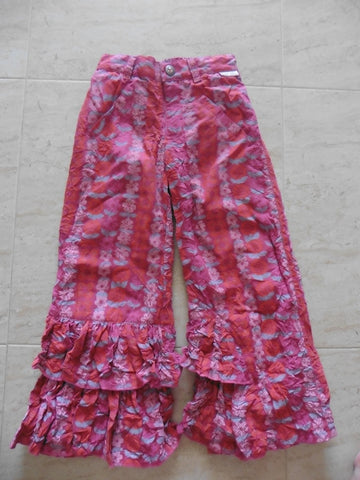 TOFF TOGS designer 70s themed trousers 5-6y