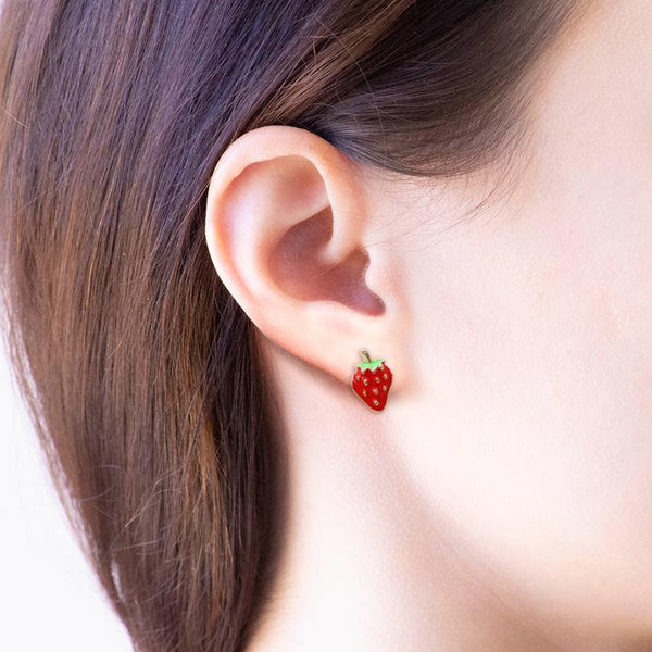 Earring Strawberry