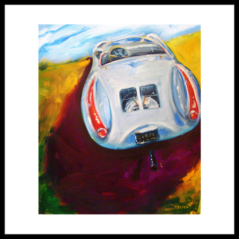 '2 Cool Two' 1954 Porsche 550 Spyder Fine Art Prints