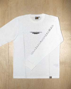 LONGSLEEVE TEE TF2018 (BLACK/WHITE)