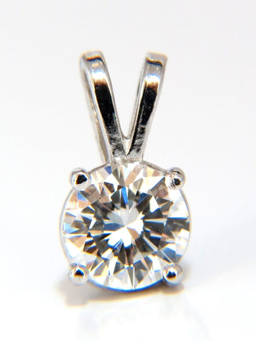 .70CT GIA E/VS1 SOLITAIRE DIAMOND PENDANT 14KT WHITE GOLD