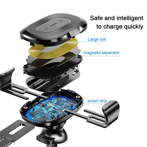 GearSupermart:Wireless Car Charger for Iphone or Samsung