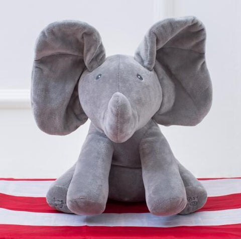 GearSupermart:Peek A Boo the  Elephant Toy:[variant-title]