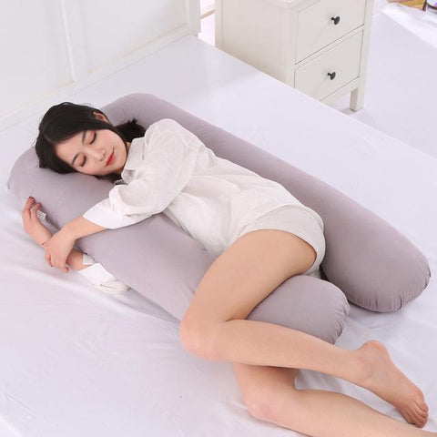 GearSupermart:U-Shape Pregnancy Pillow:[variant-title]