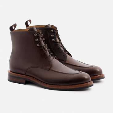 Gallagher Boot - Pull-up Leather - Brown