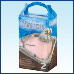 Hot Tub Aromatherapy- Pomegranate Spa Crystal