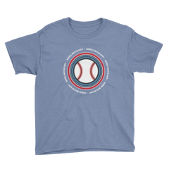 Baseball Makes Me Happy Youth T-Shirt
