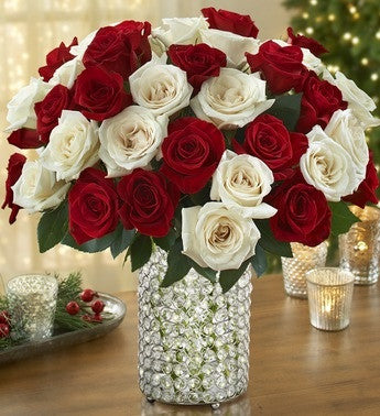 Sparkling Roses Display