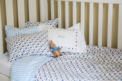Ducks cot bed duvet set