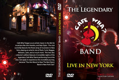 Cafe Wha? Band DVD