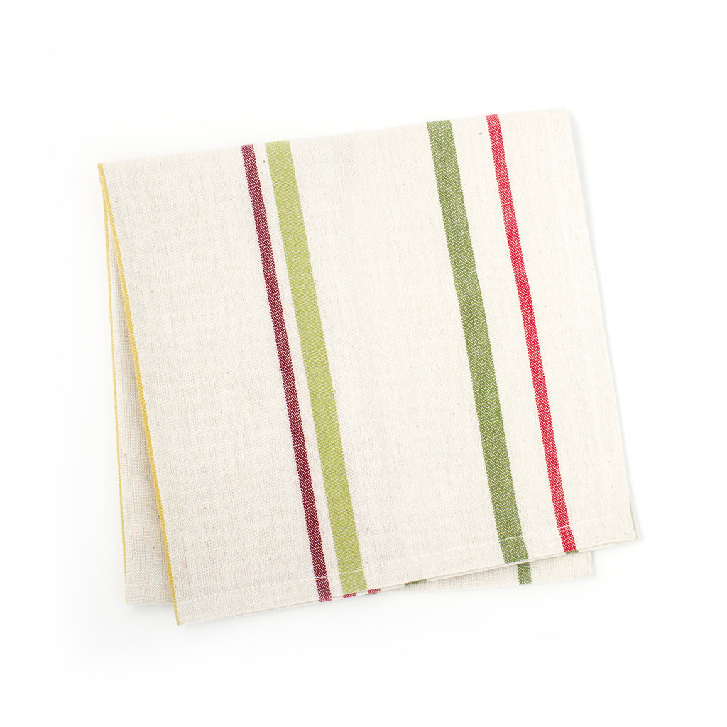holiday stripe napkin | set of 4