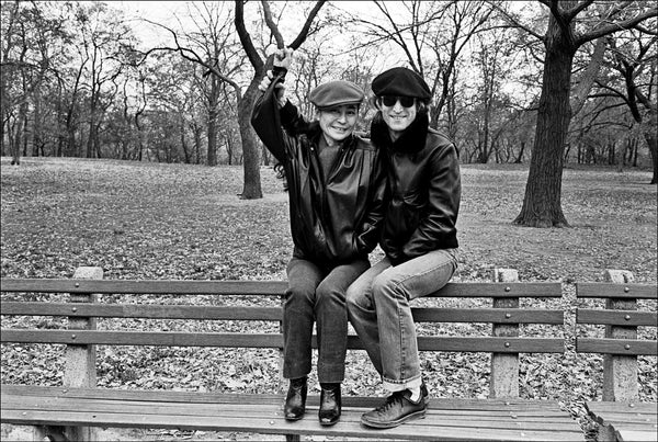 John and Yoko in Central Park