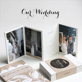 OUR WEDDING DAY, Mini Album, Set of  4