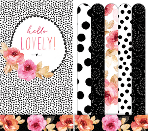 Hello Lovely - Emery boards - Sara Miller