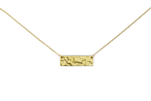Brass .50 Caliber Bar Necklace