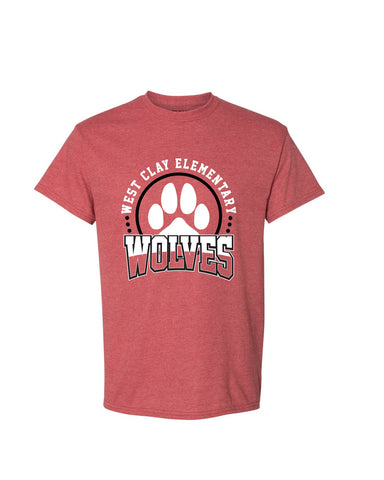 West Clay Elementary Short Sleeve Tee SP3