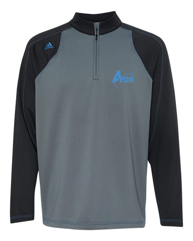 Avon Band Climawarm+® Quarter-Zip Colorblocked Training Top EMB - L&M Spirit Gear