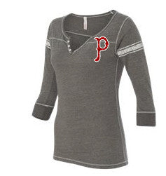 Women's Henley 3/4 Sleeve - L&M Spirit Gear