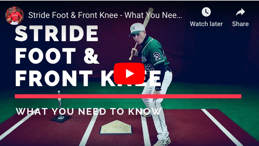 Stride Foot & Front Knee - What You Need To Know.