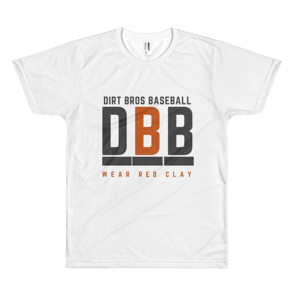 DBB - 100% polyester construction Short sleeve men's t-shirt