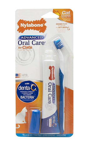 Nylabone Nylabone Advanced Oral Care Cat Dental Kit