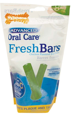 Nylabone Nylabone Advanced Oral Care Fresh Bar 8ct
