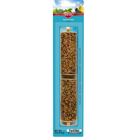 Kaytee Forti-Diet Pro Health Canary/Finch Honey Stick 4oz