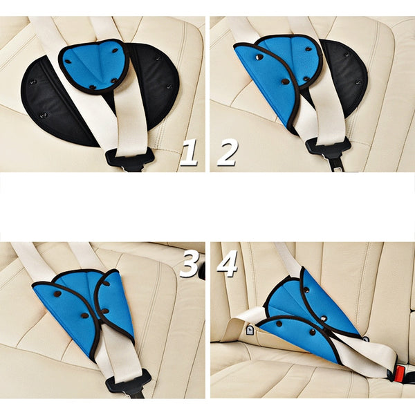Children kids seat belt adjuster pad Car Safety Gadgets New Car Gadgets