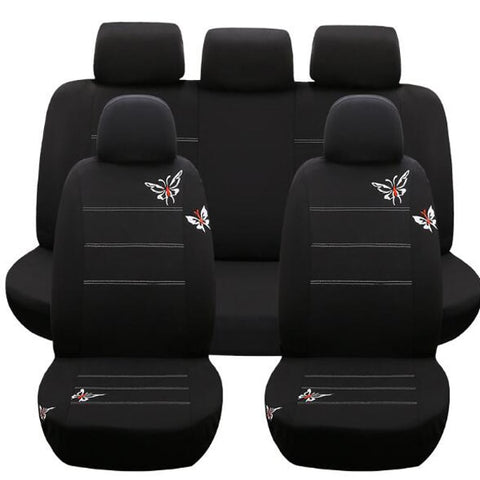 Butterfly Car Seat Cover Black Cute Unique Design Car Seat Covers New Car Gadgets