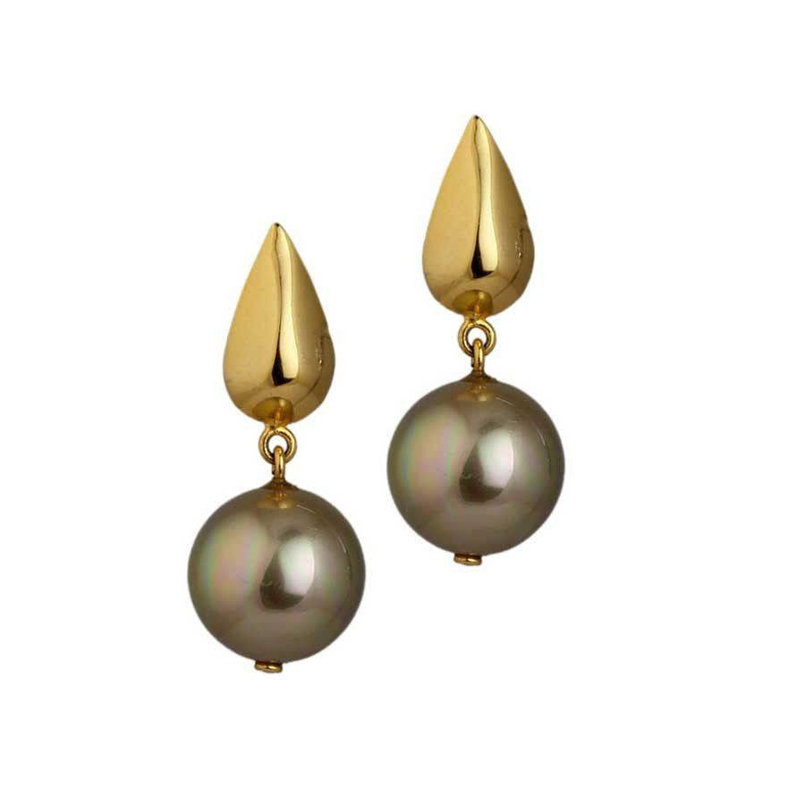Sepia Rain Earrings - EXPRESS SHIPPING