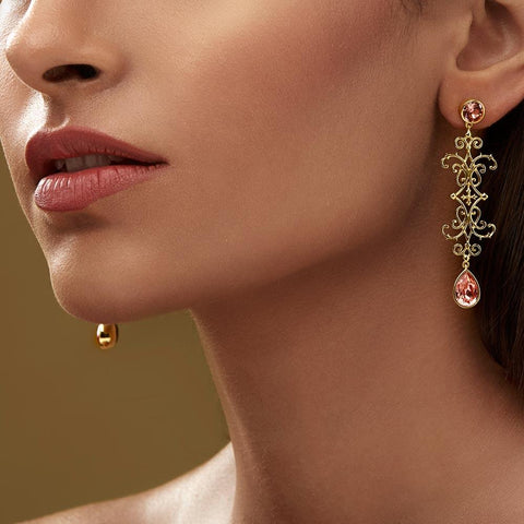 Baluster Earrings - Confluence by Swarovski