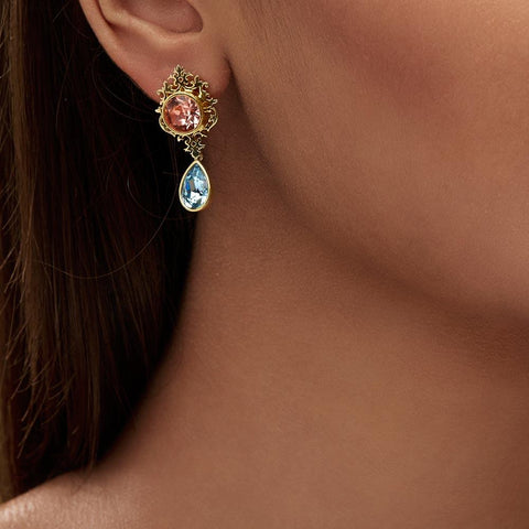 Small Frame Earrings - Confluence by Swarovski