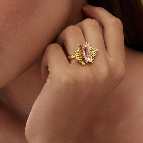 Vine Ring - Confluence by Swarovski