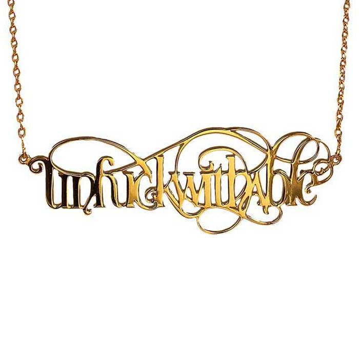 Unfuckwithable Necklace