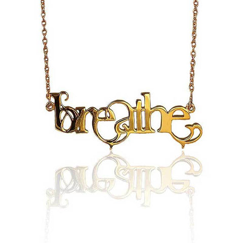 Breathe Necklace