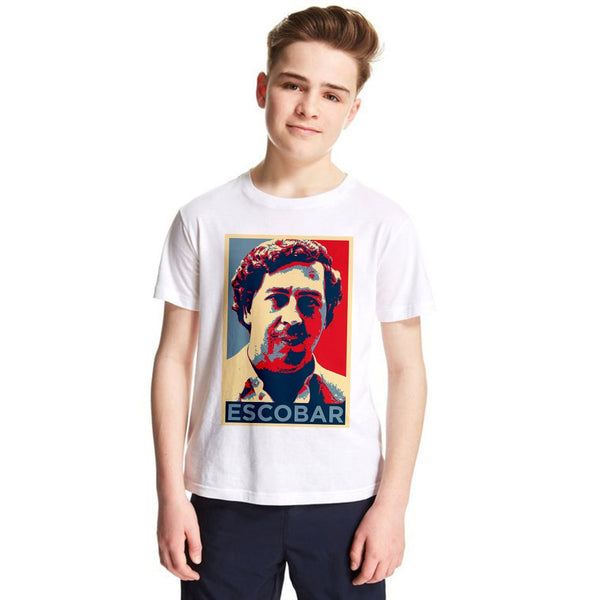 Pablo Escobar Kids T Shirt Colombia Narcos Children T-shirt