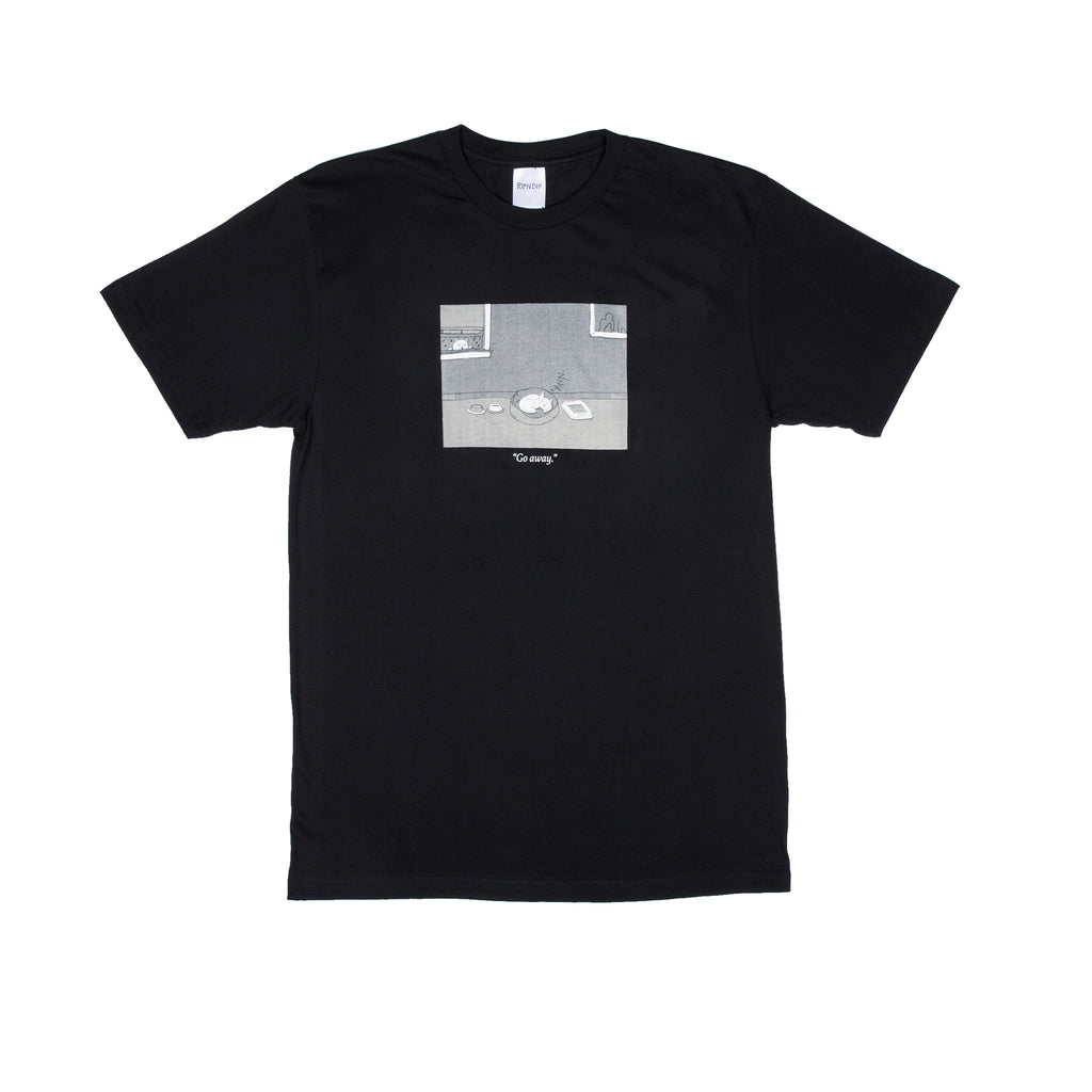 Go Away Tee (Black)