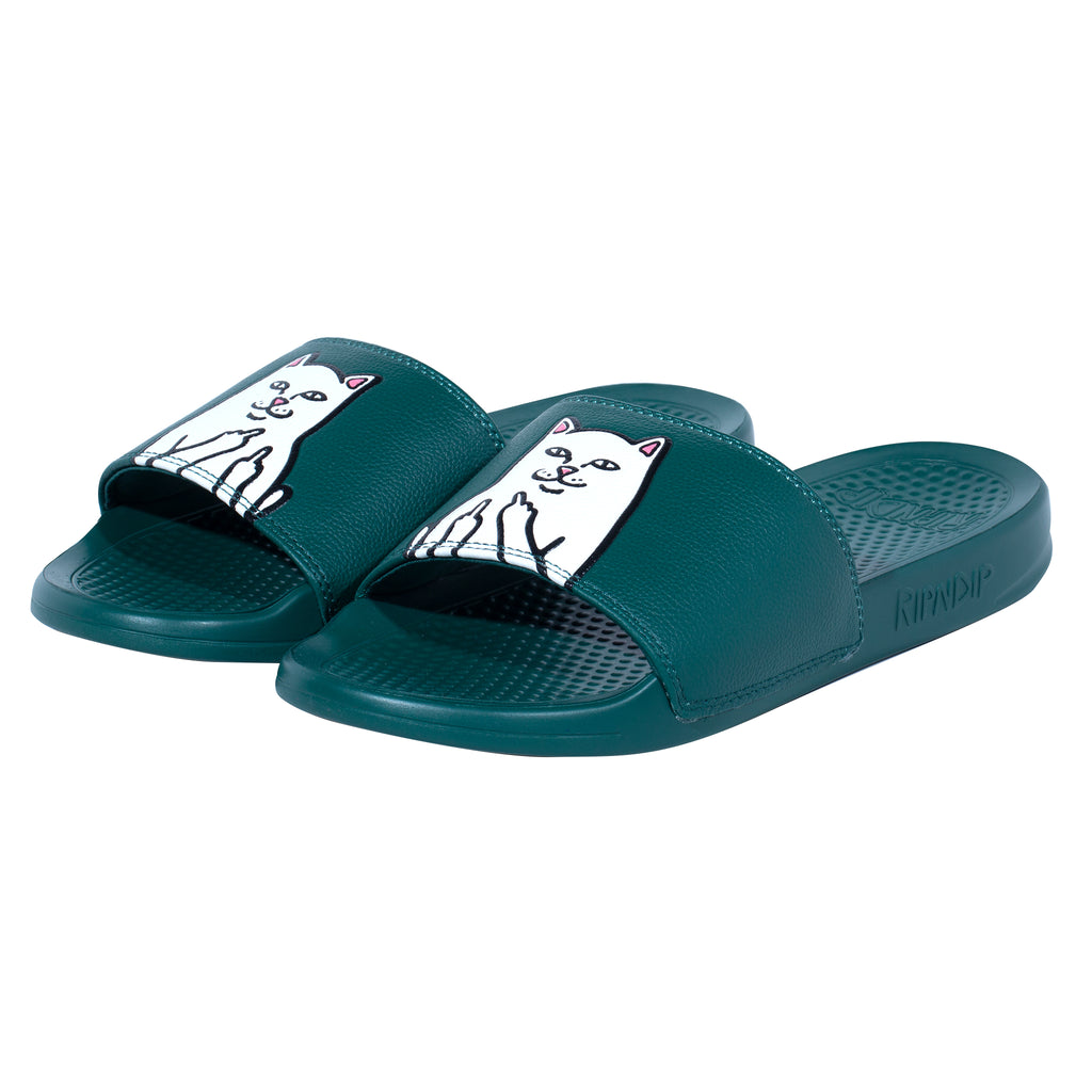 Lord Nermal Slides (Hunter Green)