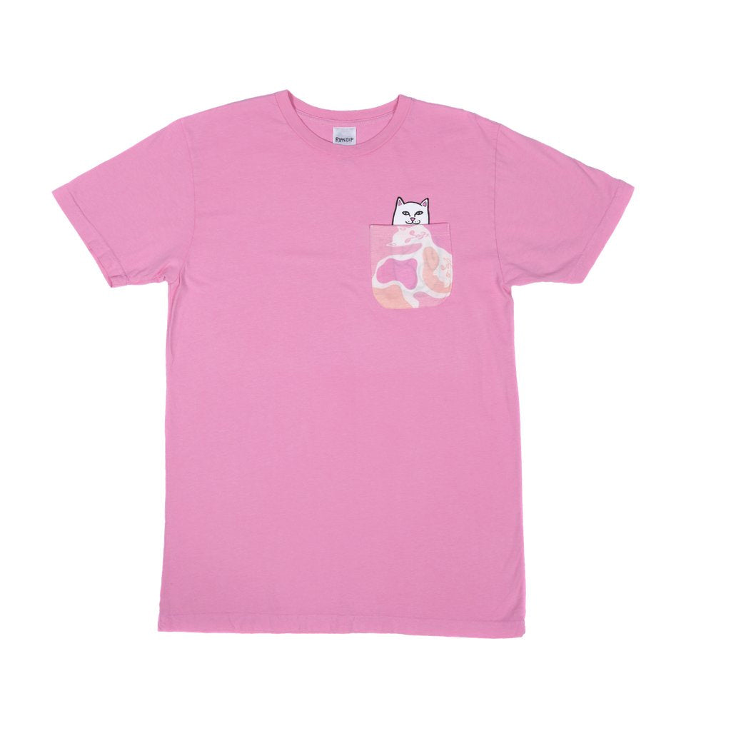 Lord Nermal Camo Pocket Tee (Pink camo)